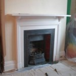 Before: Inefficient old gas coal effect fire